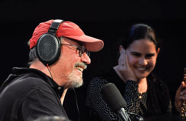 Silvio Rodríguez y Niurka González. © Kaloian Santos Cabrera