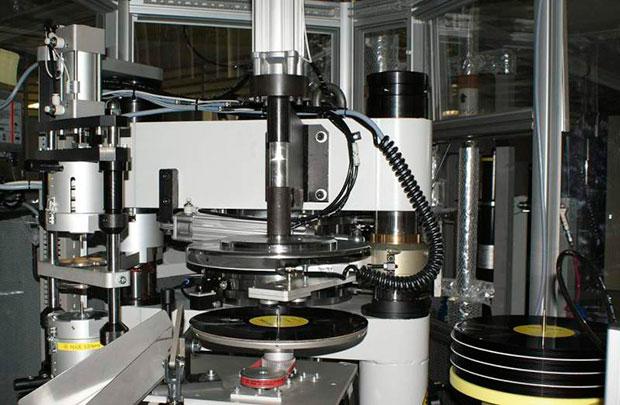 Fábrica de vinilos de la Sony en Japón.