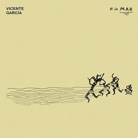 Portada del disco «A la Mar» de Vicente García.