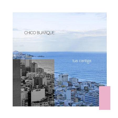 Portada del single «Tua cantiga» de Chico Buarque.