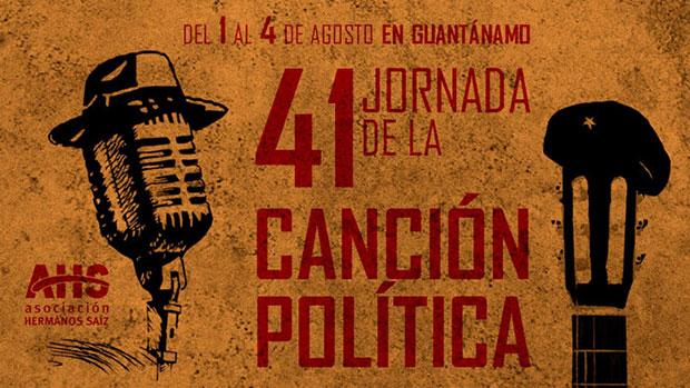 XLI Jornada de la Canción Política en Guantánamo (Cuba) 2017.