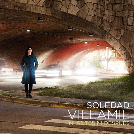 Portada del disco «Ni antes ni después» de Soledad Villamil.