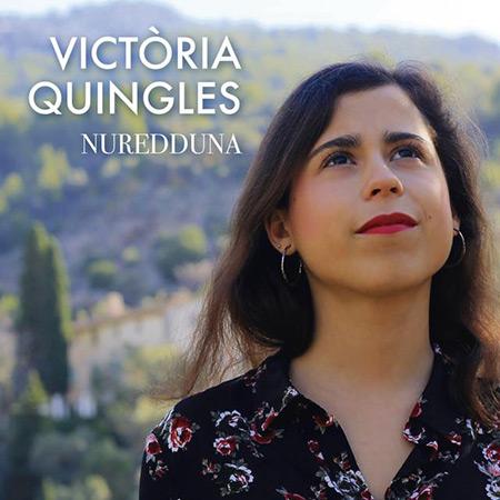 Portada del disco «Nuredduna» de Victòria Quingles.