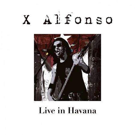 Portada del disco «Live in Havana» de X Alfonso.