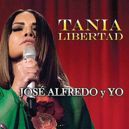 Portada del disco «Alfredo y yo» de Tania Libertad.