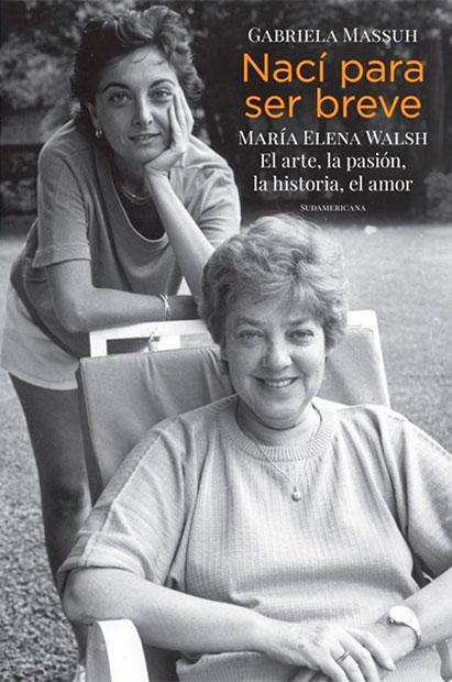 Portada del disco «Nací para ser breve» de María Elena Walsh.