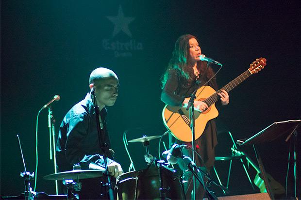 Greco Acuña y Tita Parra. © Xavier Pintanel