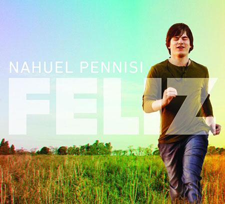 Portada del disco «Feliz» de Nahuel Pennisi.