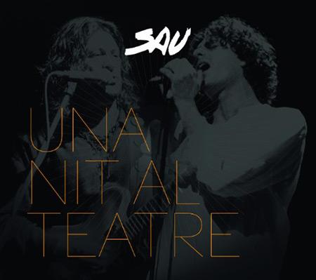 Portada del disco «Una nit al teatre» de Sau.