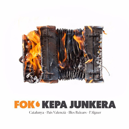 Portada del disco «Fok» de Kepa Junkera.