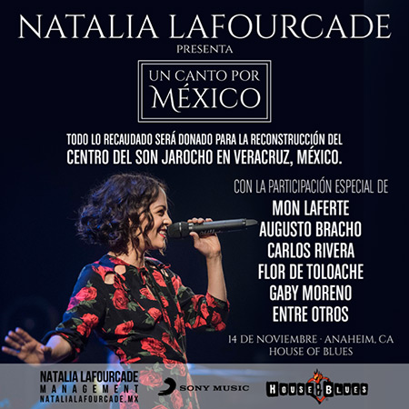 Natalia Lafourcade presenta «Un canto por México».
