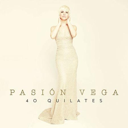 Portada del disco «40 quilates» de Pasión Vega.