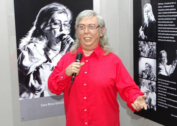 Figura de cera de Sara González en el Museo de Cera de Bayamo. © La Demajagua