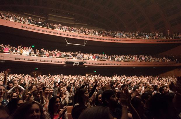 Jorge Drexler en el Teatro Gran Rex de Buenos Aires (Argentina). © Kaloian Santos Cabrera