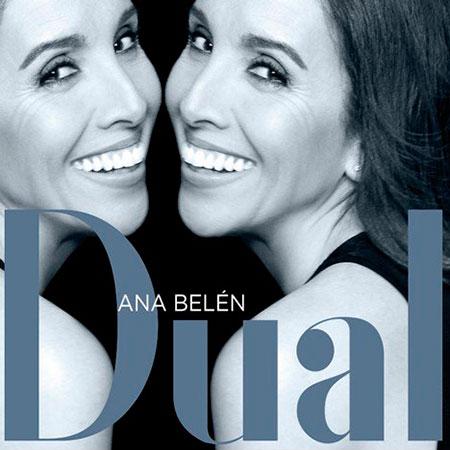 Portada del disco «Dual» de Ana Belén.