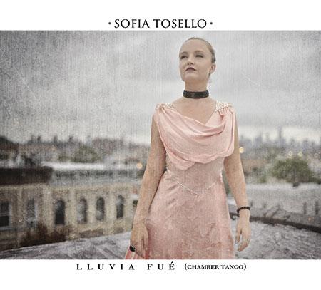Portada del disco «Lluvia fue» de Sofía Tosello.