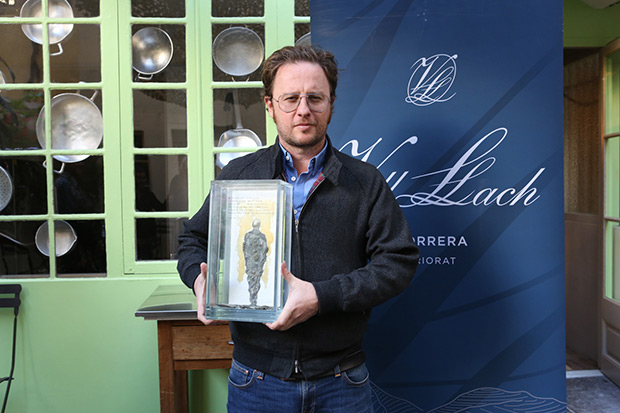 David Carabén gana el X Premio Miquel Martí i Pol del Certamen Terra i Cultura. © Xavier Mercadé