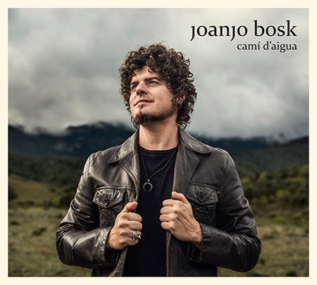 Portada del disco «Camí d'aigua» de Joanjo Bosk.