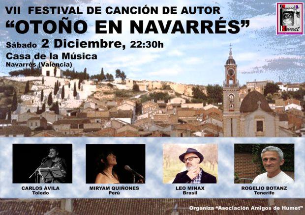 VII edición del Festival «Otoño en Navarrés».