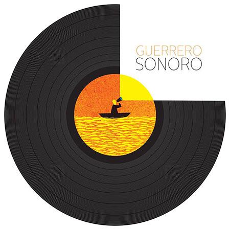 Portada del libro «Guerrero sonoro» de Hernán Guerrero.