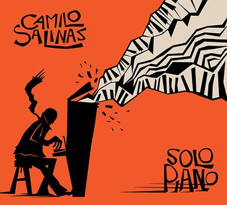 Portada del disco «Solo Piano» de Camilo Salinas.