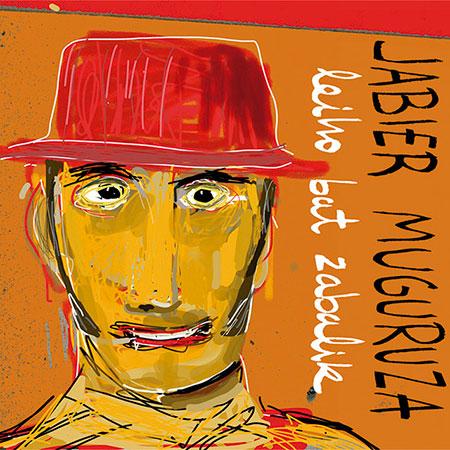Portada del disco «Leiho bate Zabalik» de Jabier Muguruza.