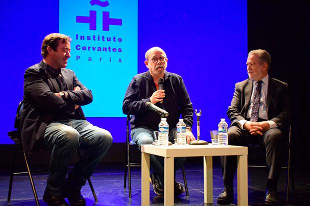 Silvio Rodríguez presentó en París el documental «Canción de barrio».