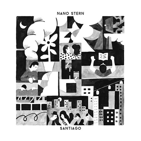 Portada del disco «Santiago» de Nano Stern.