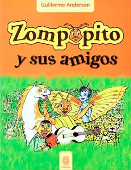Portada del libro «Zompopito y sus amigos» de Guillermo Anderson.