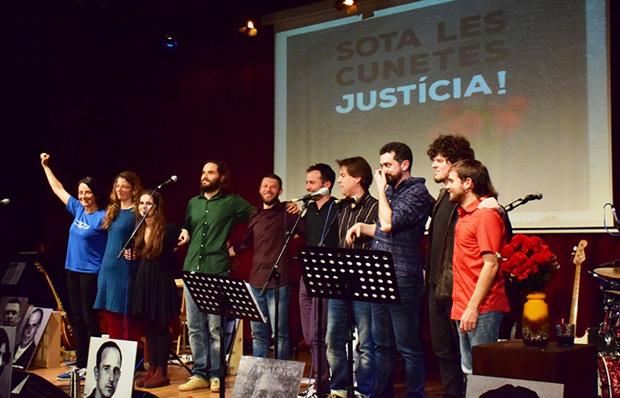 Sota les cunetes, Justícia! - Verdcel © Núria Trulla Macia