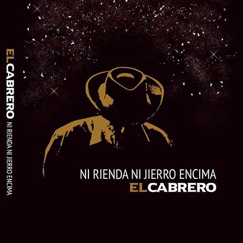Portada del disco  Ni rienda ni jierro encima» de El Cabrero.