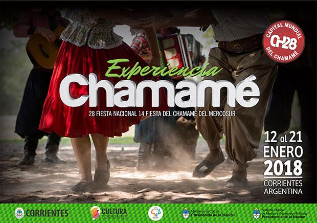 28 Fiesta Nacional del Chamamé y 14 Fiesta del Chamamé del MERCOSUR.