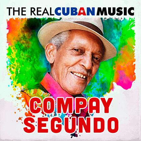 Portada del disco «The Real Cuban Music» de Compay Segundo.
