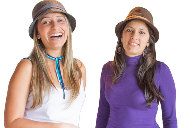 Manuela y Ariana Moreno, el dúo Surconciente.