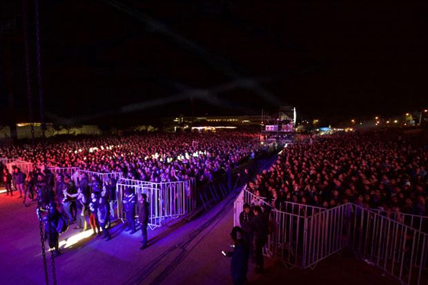 Masiva jornada de Rockódromo en Valparaíso. © Prensa Consejo Nacional de la Cultura y las Artes