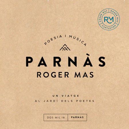 Portada del disco «Parnàs» de Roger Mas.