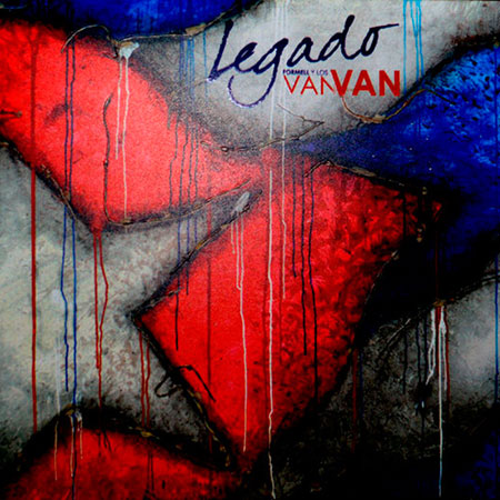 Portada del disco «Legado» de Los Van Van.