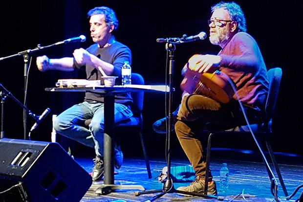 Pep Gimeno «Botifarra» y Miquel Gil. © CANCIONEROS