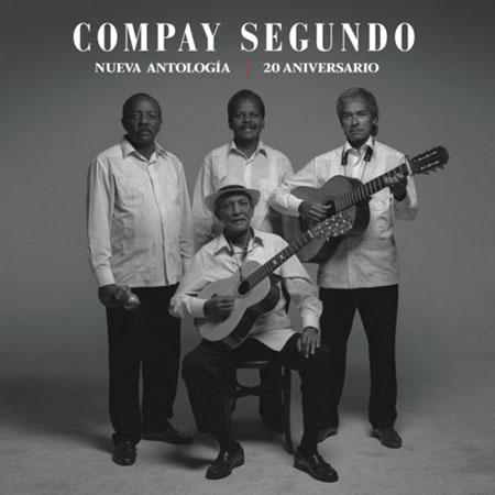 Portada del disco «Nueva Antología 20 Aniversario» de Compay Segundo.