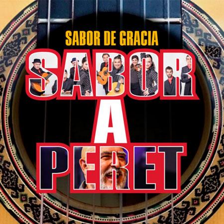 Portada del disco «Sabor a Peret» de Sabor de Gràcia.