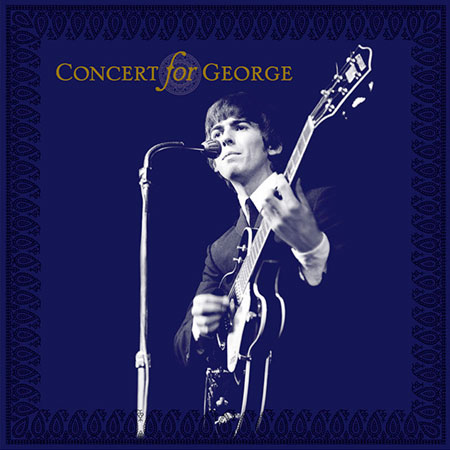Portada del disco «Concert for George».