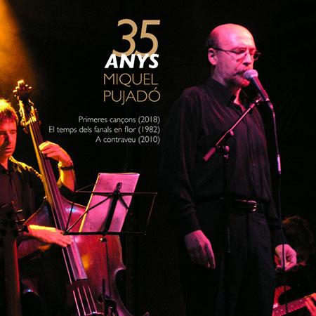 Portada del disco «35 anys» de Miquel Pujadó.