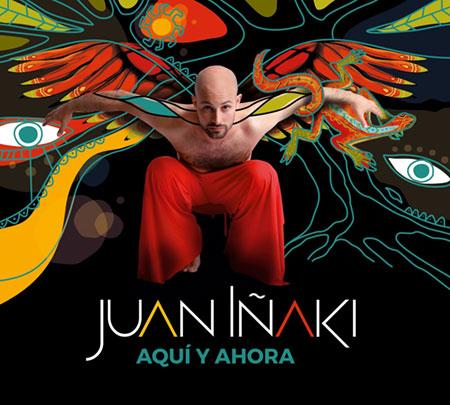 Portada del disco «Aquí y ahora» de Juan Iñaki.