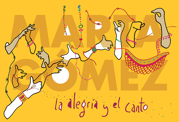 Portada del disco «La alegría y el canto» de Marta Gómez.