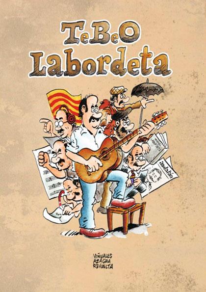 Portada del libro «TeBeO Labordeta» de Daniel Viñuales y Carlos Azagra.