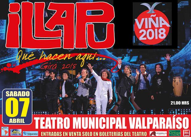 Illapu inicia en Valparaíso su Gira Nacional.