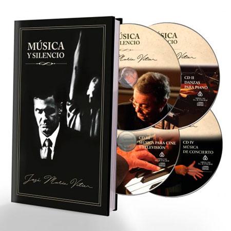 El libro-disco «Música y silencio» de José María Vitier.