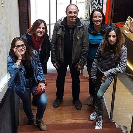 Pere Camps con Les Kol·lontai, que cerrarán este sábado la 23 edición del festival BarnaSants.