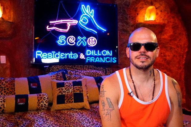 El cantante puertorriqueño Residente. © EFE