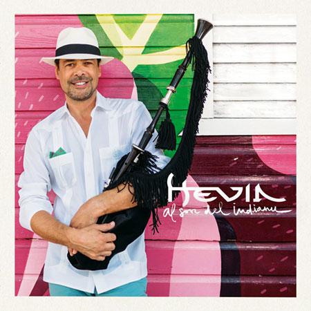 Portada del disco «Al son del Indianu» de Hevia.